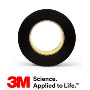 "2 ROLLS     3M Vinyl Tape 472 Black 6/"" x 36 Yards Heavy Duty Abrasion Resistant"