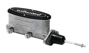 WIL2609439 Wilwood Master Cylinder Aluminum Tandem W/ Pushrod 7/8 In. Bore T