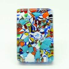 Multi-Coloured Murano Glass Ring From Venice