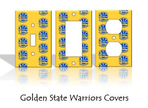 Image Is Loading Golden State Warriors Light Switch Covers Basketball Nba
