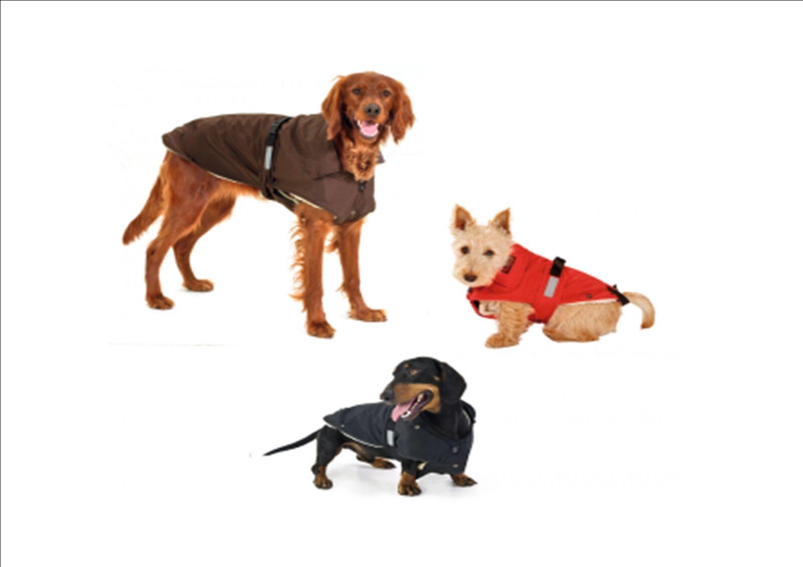 Hundemantel  No Limit  rot oder schwarz, wasserdicht, reflektierend     Verkaufspreis