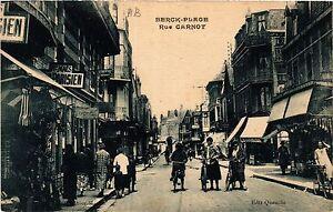Cpa Berck Plage Rue Carnot (414531) S8viwi5f-07222437-322153875