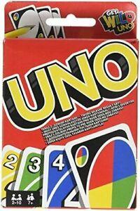 UNO-Jeu-Societe-Cartes-Mattel-W2087-Famille-Amis-Cadeaux-Neuf-neuf