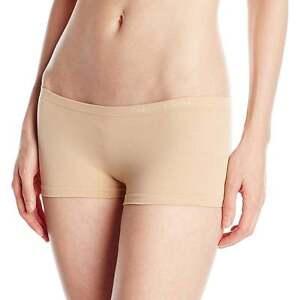 Calvin-Klein-Womens-CK-Pure-Seamless-Boyshort-Hipster-Panty-Bare-Skin-Colour