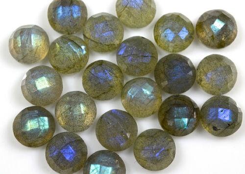 Details about  /Natural Labradorite 5X5 mm Square Rose Cut Loose Gemstone AQ01
