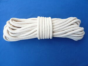 Baumwollseil 10 mm, 10 m Zauberseil BW Seil Baumwolle Bondage schnur kordel
