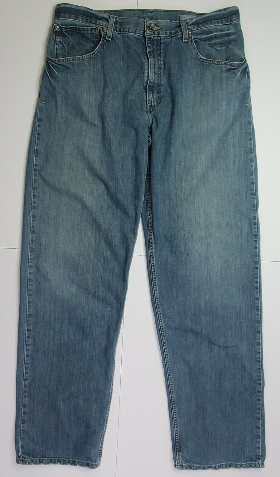 Vintage Levis Silvertab Baggy Straight Jeans 36x3… - image 2
