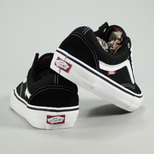 b59106eaaa 3 sur 4 Vans Old Skool Pro Black White Trainers Shoes Skate UK Size 4