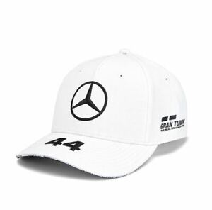 super qualità ultima vendita stili diversi Dettagli su 2019 CAPPELLINO CAPPELLO LEWIS HAMILTON PETRONAS MERCEDES AMG  F1 BIANCO HAT CAP