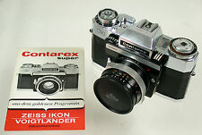 Carl ZEISS IKON Contarex Super Model 1 Blitz Distagon 4/35 35mm F 4 beautiful
