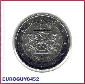 LITOUWEN - 2 € COM. 2020 UNC - AUKSTAITIJA
