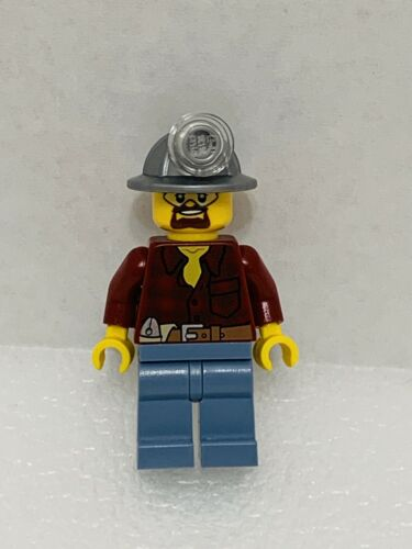 Lego Minifigure City Construction Flannel Shirt Cty0309