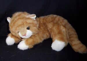 17 Vintage Ty 1995 Al E Kat Orange Striped Kitty Cat Stuffed Animal