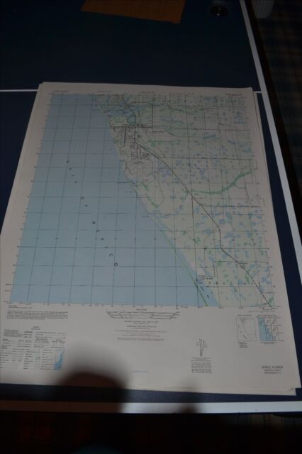 Map Of Venice Florida.1940 S Army Topo Map Laurel Florida 4538 Iii Nw North Venice Ebay
