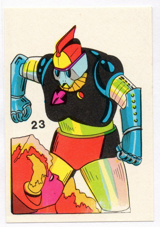 CROMO #23 MAZINGER Z Y SUS AMIGOS 1978 / 1980 REYAUCA VENEZUELA