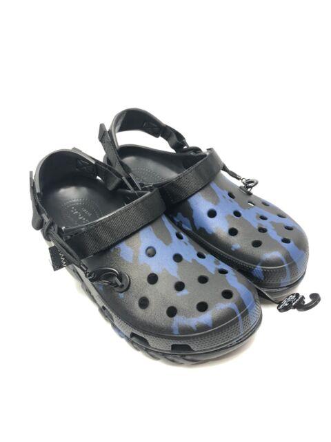 Post Malone X Crocs Duet Max Clog Size