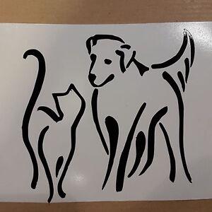 Cat chat 6356 autocollant adhésif sticker