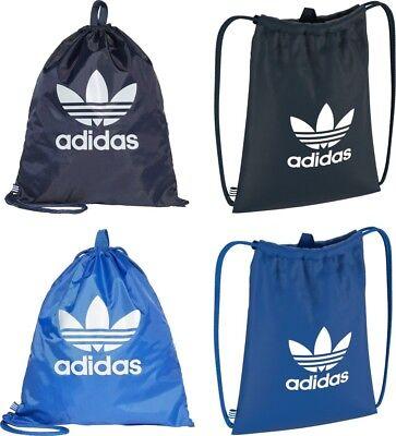 Premuroso Adidas Trifoglio Gym Sack Zaino Sacca Borsa Shoesack Ns Scuola Calcio In Uni-mostra Il Titolo Originale
