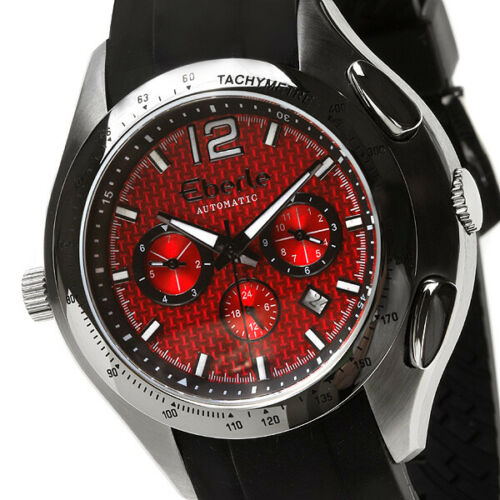 EBERLE TOWER MEN'S AUTOMATIC WATCH NEW FREE USA S-H RED