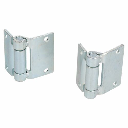 Pressed Steel Hinge Heavy Duty 65x73mm Industrial Door Hatch Locker 2PK