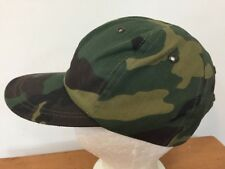 item 3 Vtg Made in USA Army Green Woodland Camo Adjustable Snap Back  Baseball Hat Cap -Vtg Made in USA Army Green Woodland Camo Adjustable Snap  Back ... ffa2c772f852
