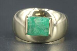 Gold-Ring-585-Smaragd-14K-Gelbgold-Groesse-60-1-Smaragd-ca-1-70ct