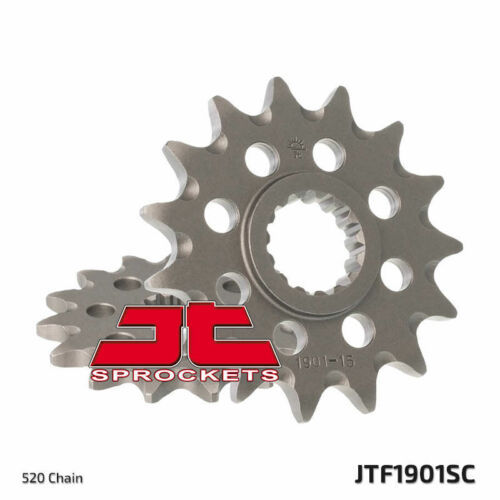 13 Tooth HUSABERG TE2502011-14 Self Cleaning Steel Front Sprocket JTF1901SC