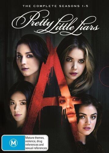 1 of 1 - Pretty Little Liars : Season 1-5 (DVD, 2015, 19-Disc Set)