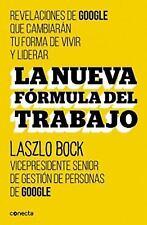La Nueva Formula Del Trabajo by Bocklaszlo and Laszlo Bock (2015, Paperback)