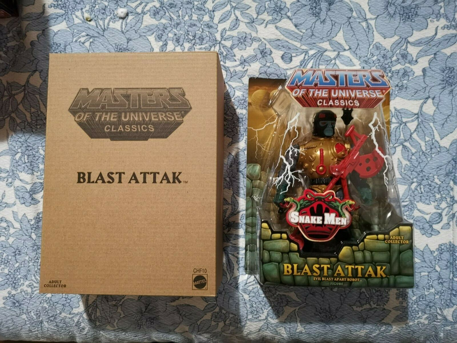 MASTERS OF THE  UNIVERSE classeeICS HE-uomo MOTUC BLAST ATTAK NUOVO  colorways incredibili
