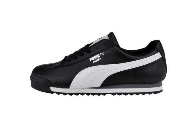 PUMA Roma Basic Shoes Synthetic Black