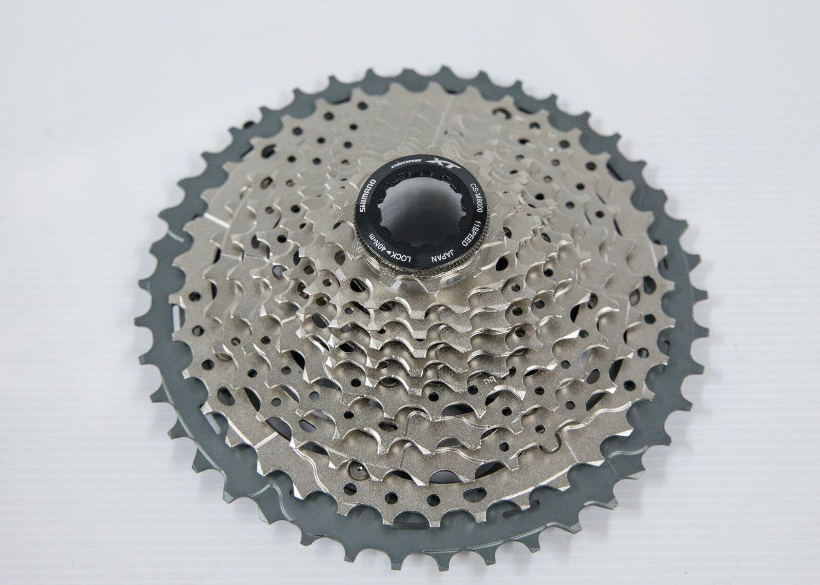 SHIMANO XT Cassette CS M8000 11S MTB bike freewheel CSM8000 1146T 1142T