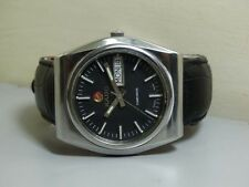 Vintage Rado Companion AUTOMATIC Day Date Wrist Watch E762 Old Used Antique