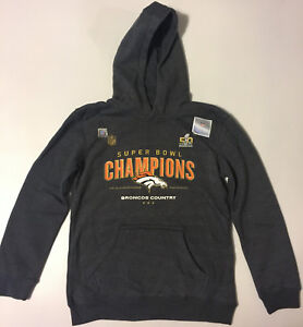 denver broncos youth medium hoodie