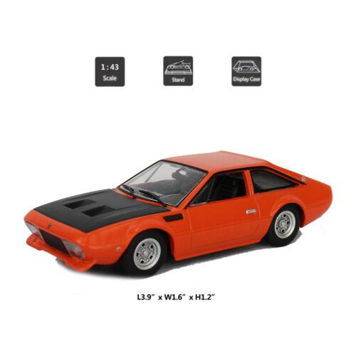 Vintage Lamborghini Jarama GTS 1972 1//43 Model Car Diecast Gift Toy Vehicle Kids