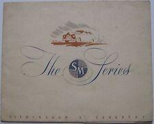 Singer SM 1500 Saloon 1949-50 Original UK Sales Brochure Pub No 101/D/49
