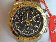 Swiss Legend 47mm World Timer Collection Chronograph Stainless Steel Watch L@@K!