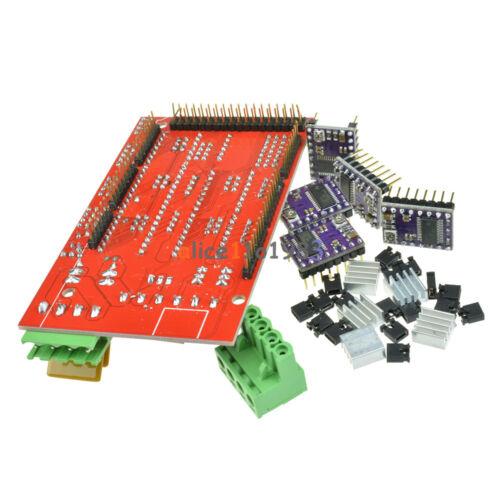 5PCS DRV8825 StepStick Driver Module For 3D Printer RAMPS 1.4 Controller Board