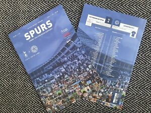 Tottenham-Spurs-v-Leicester-City-Limited-Programme-18-7-2020-READY-TO-DISPATCH