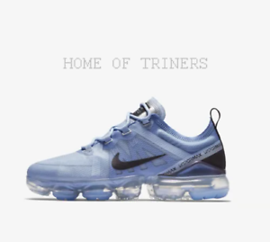 size 40 44a41 c622a Details about Nike Air Vapormax 2019 Royal Pulse Black Metallic Silver  Girls Women's Trainers