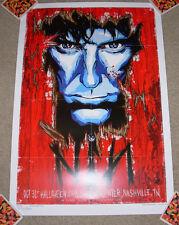 NINE INCH NAILS concert gig poster NASHVILLE 2008 trent reznor Rhys Cooper