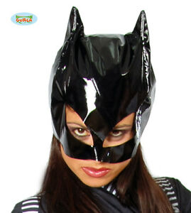 MASCHERA-CATWOMAN-Donna-Gatta-Adulto-Mask-Carnevale-Travestimento-Batman-2699