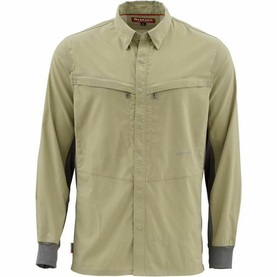 Simms Intruder BiComp LS Shirt  Sage  M   gratuito US Shipping & Closeout Sale