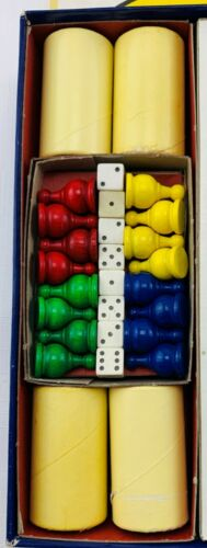 1959 Parcheesi Game Gold Edition by Selchow /& Righter Complete in Great Cond
