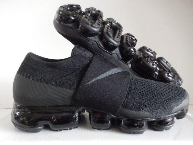 75738b268c03e Nike Womens Air Vapormax Flyknit MOC Triple Black Aa4155-004 Size 11 for  sale online