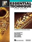 Essential Technique for Band - Intermediate to Advanced Studies: Eb Alto Saxophone by Various (Paperback / softback, 2002)