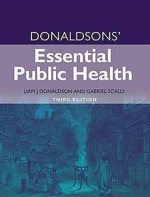 Donaldsons' Essential Public Health by Gabriel Scally, Sir Liam J. Donaldson...
