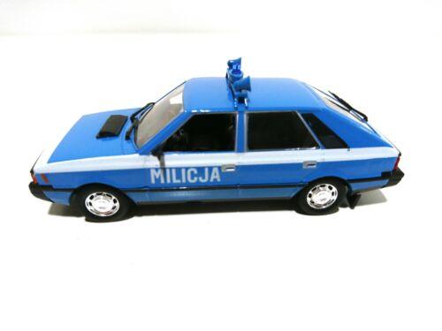 1//43 URSS Voiture de l/'Est CAR MODEL P209 Polonez 1500 Militaire milicja