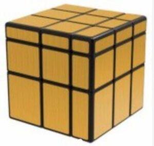 QiYi-Mirror-Gold-3x3x3-Speed-Cube