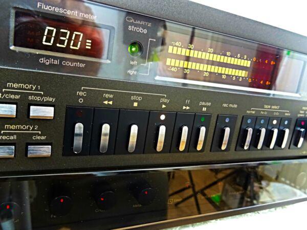 Liefdadig Technics Rs M95 3heads Audiophile Cassette Tape Deck Excellent Service Condition